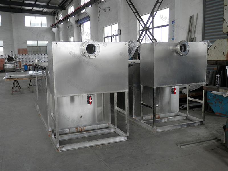 滨州餐饮环保下水油水分离装置刮油机