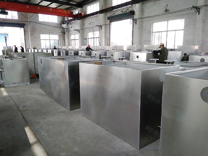 东营专业不锈钢厨房下水除渣隔油提升一体化装置检验批