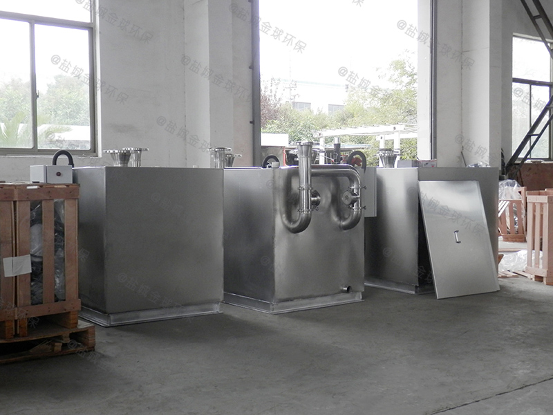 潍坊小区下水隔油提升设备排放