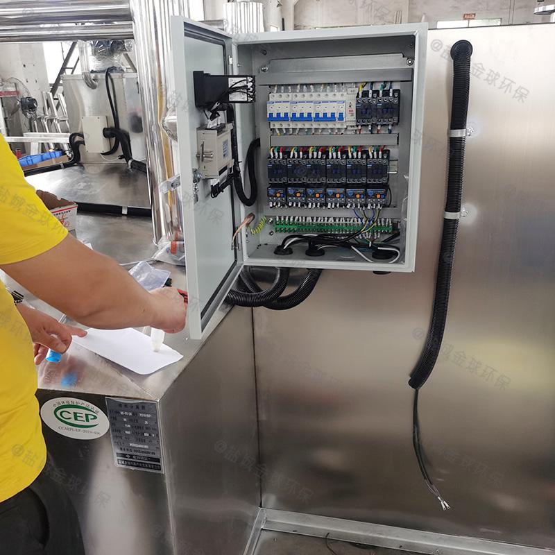 滨州生活区油水分离处理设备高度