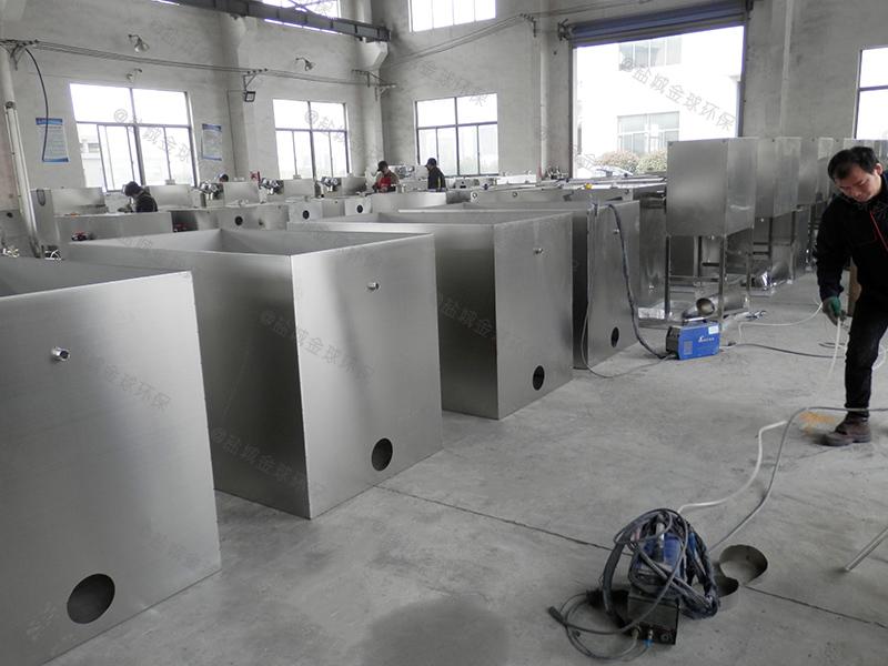 莱芜机械下水道隔油提升设备实物图
