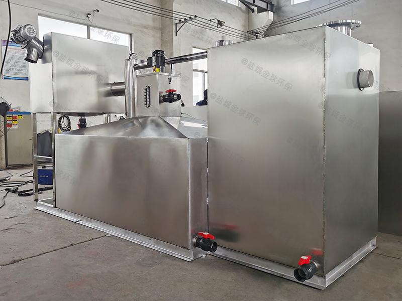 菏泽施工现场食堂下水除渣隔油提升装置的设置