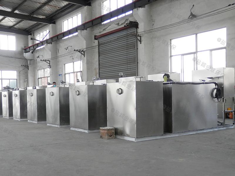 东营生活区下水除渣隔油提升一体化装置多大