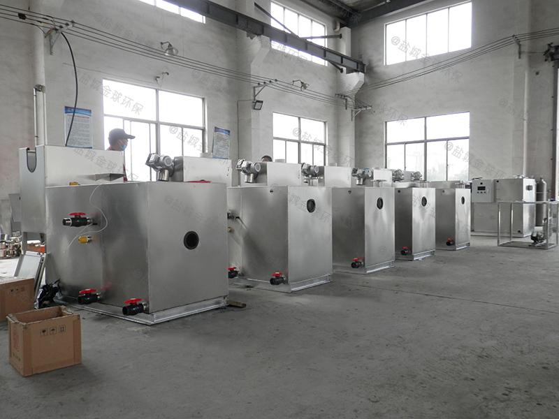 东营全自动餐饮下水道隔油提升设备装置