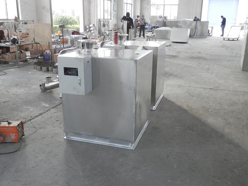 德州螺旋厨房下水油水分离器油脂
