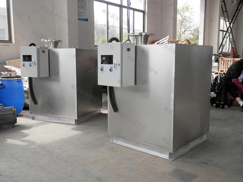 滨州潲水油下水道油水分离器制作图纸