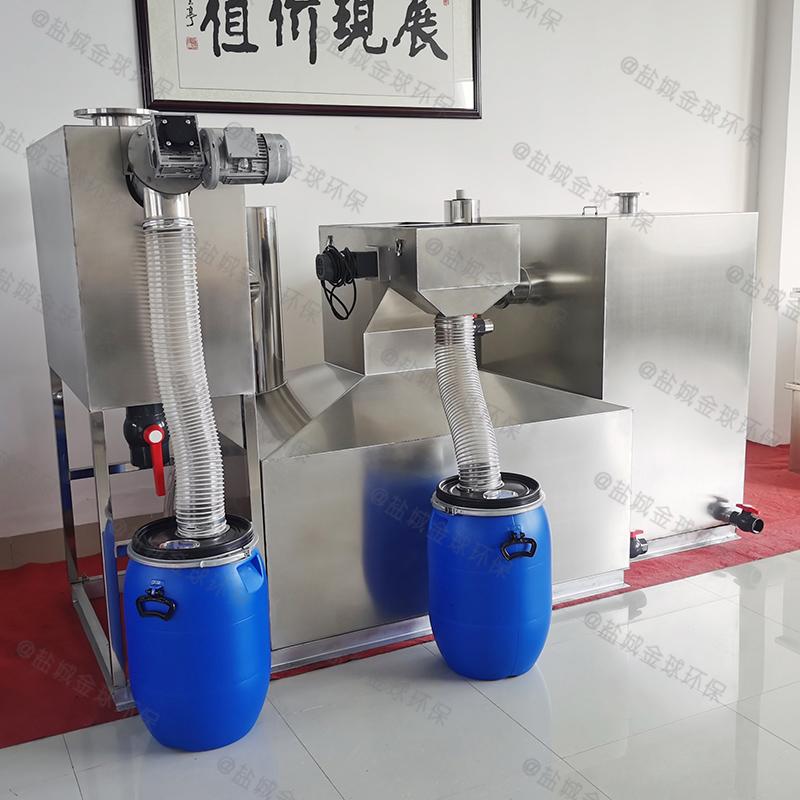 青岛如何选择下水除渣隔油提升装置的原理