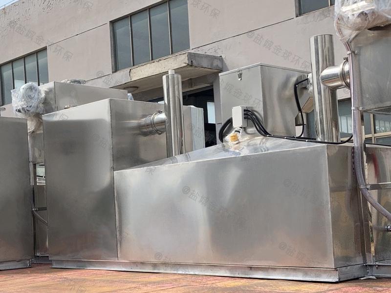 烟台餐饮环保下水油水分离器检查