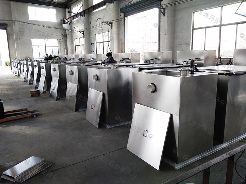 济南厨房污下水油水分离设备设置标准