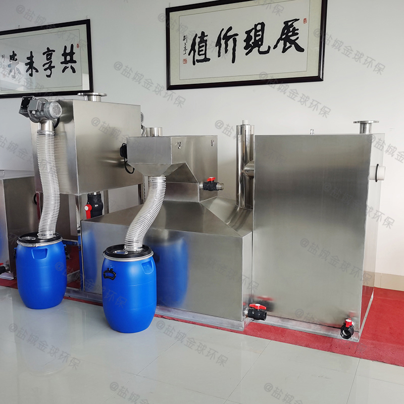 潍坊食堂废水用的油水分离器提升设备的结构