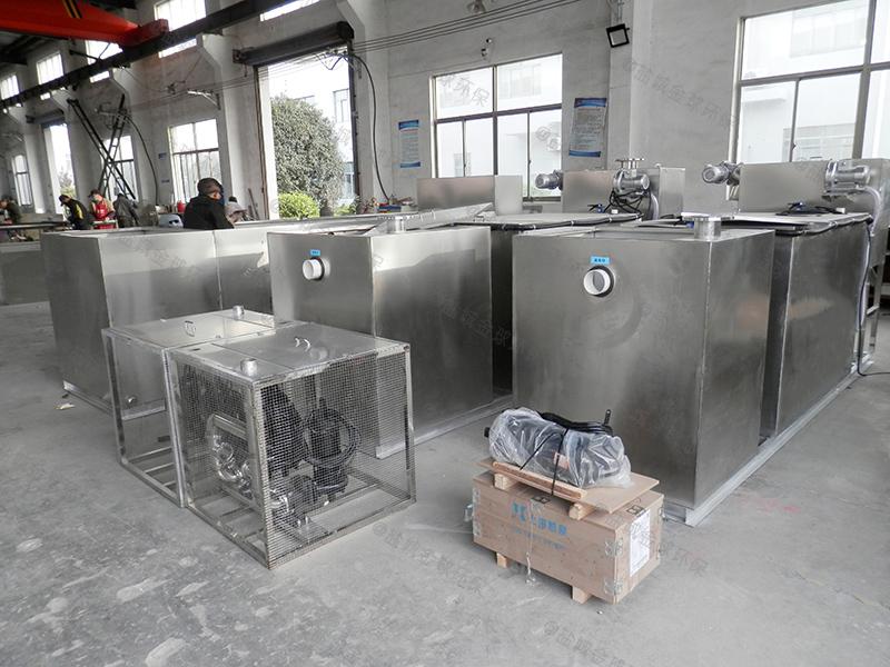 滨州地下型厨房下水隔油池用途