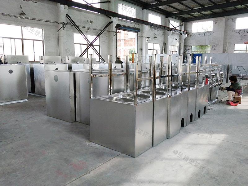 潍坊厨房污下水油水分离设备排放