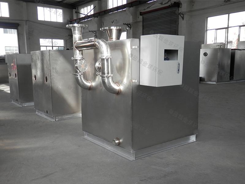 泰安美食节下水除渣隔油提升一体化设备格栅是什么
