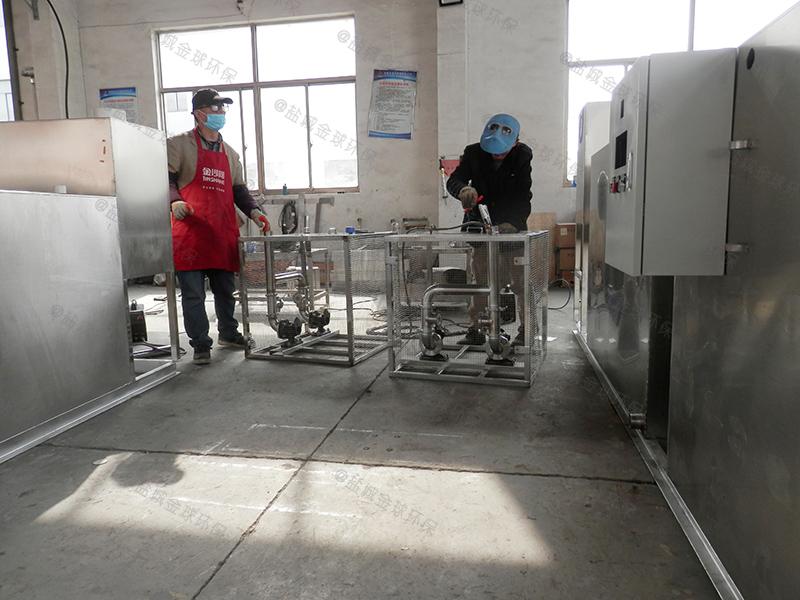 枣庄带提升厨房下水隔油池怎么选