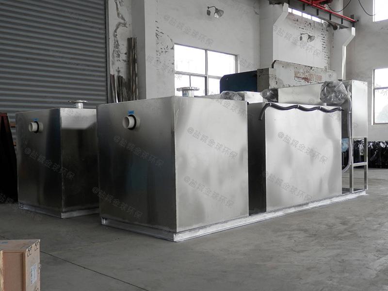 潍坊搅拌机厨房下水油水分离器整改