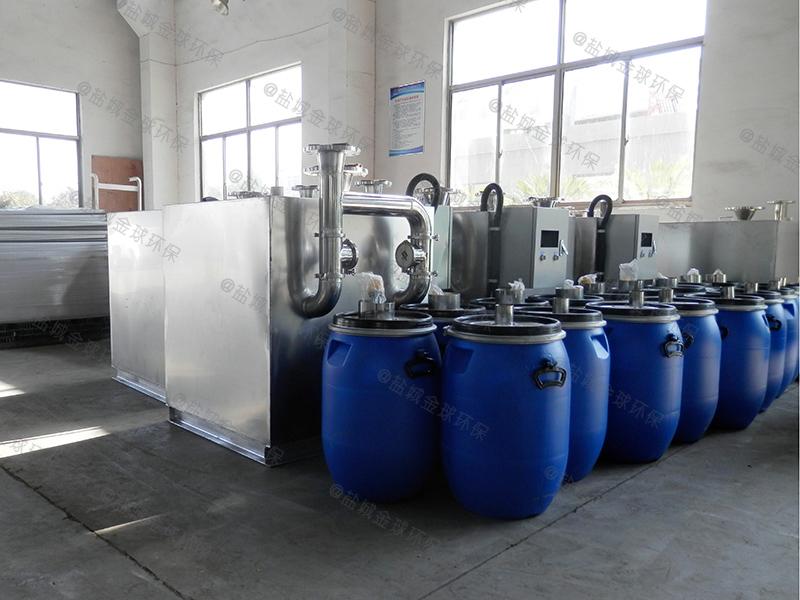 东营建筑厨房下水除渣隔油提升一体化设备的选型