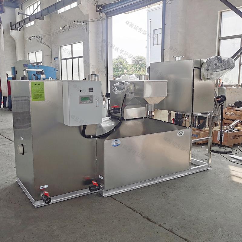 滨州三段式厨房下水除渣隔油提升一体化设备高度