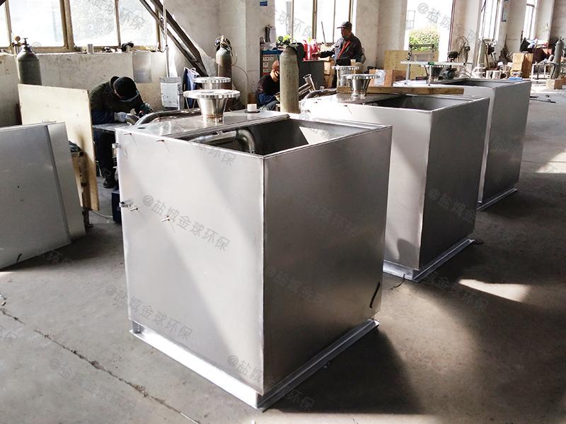 德州调节食堂下水道油水分离设备设计方案