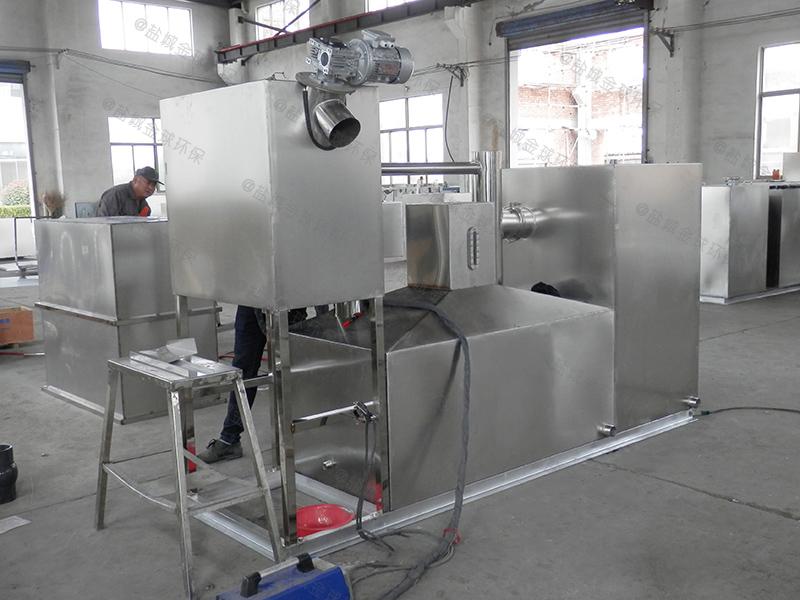 日照餐饮小型厨房下水除渣隔油提升设备容积计算
