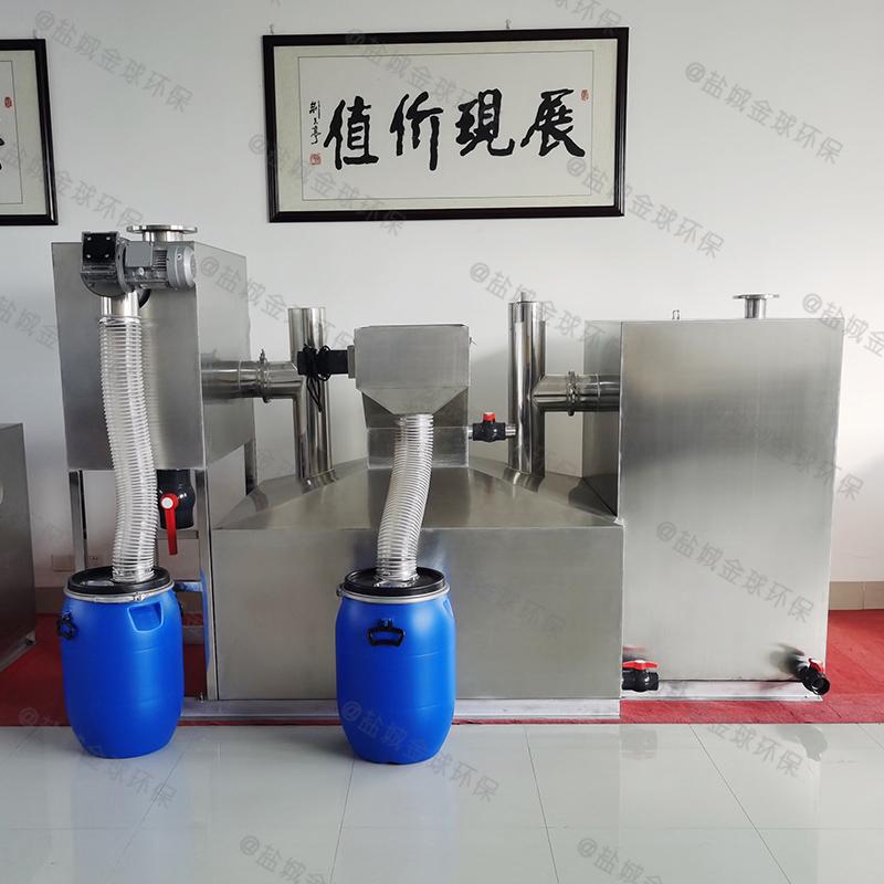 枣庄三联厨房下水除渣隔油提升一体化设备废油