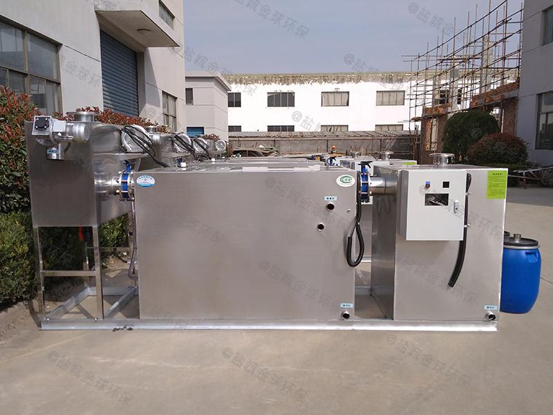 临沂厨房垃圾下水隔油提升设备设置标准