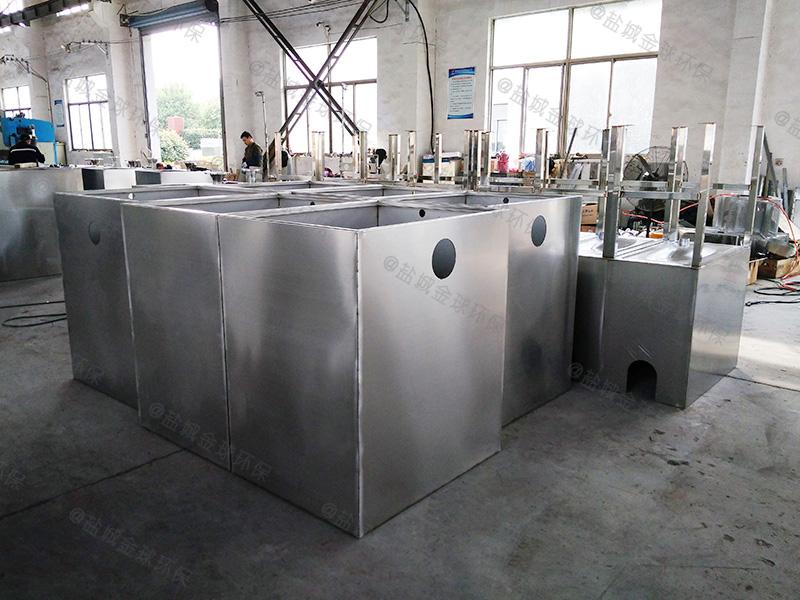 东营预制厨房下水除渣隔油提升一体化装置设计计算