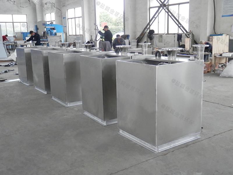 临沂小型不锈钢厨房下水油水分离装置工程量