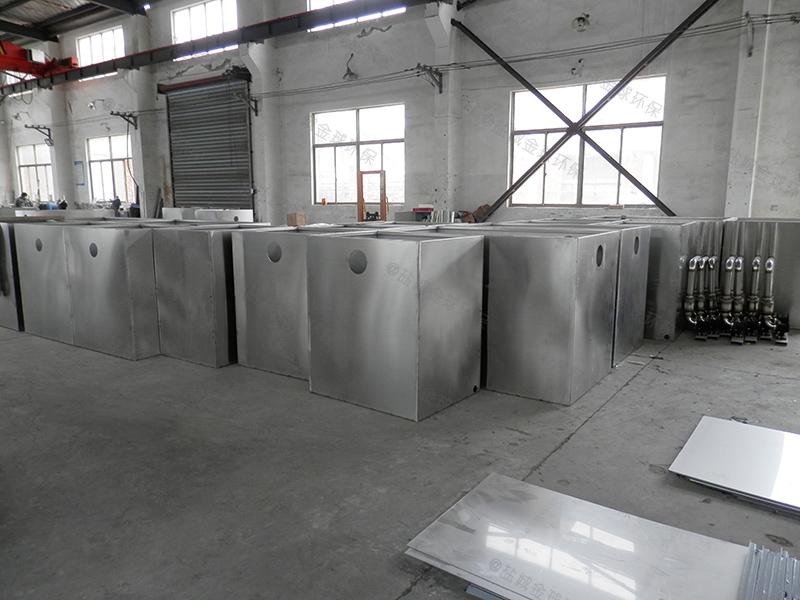 淄博厨房用小型下水道隔油池资料