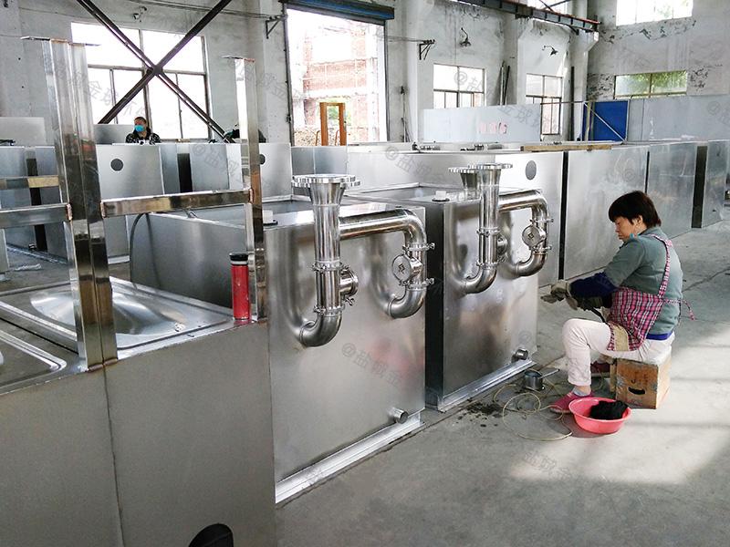 济宁屠宰场厨房下水隔油提升装置简易做法