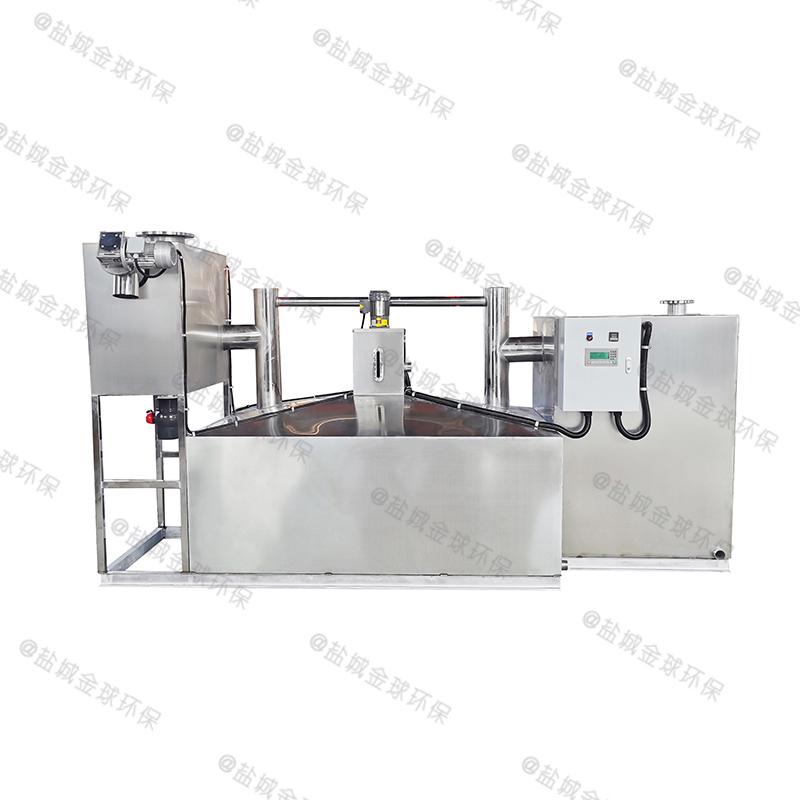 济宁火锅厨房下水除渣隔油提升装置格栅是什么