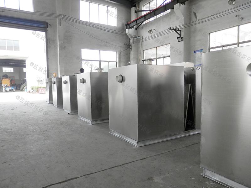 烟台移动厨房用油水分离器污水池