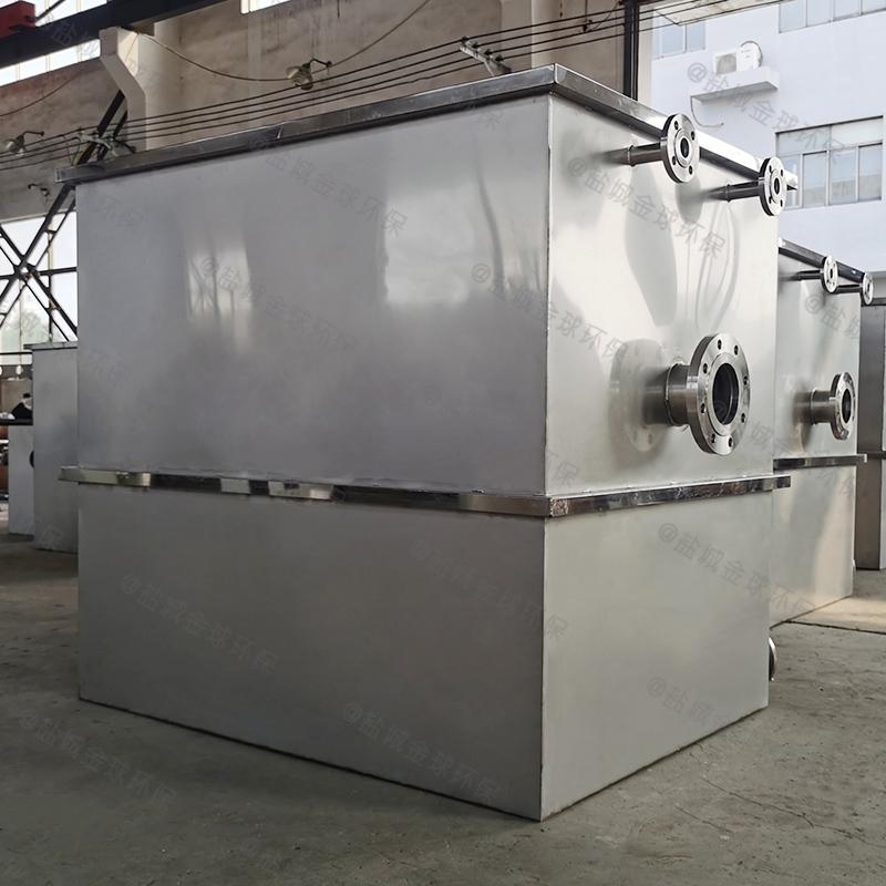 山东商业厨房油水分离提升设备高度