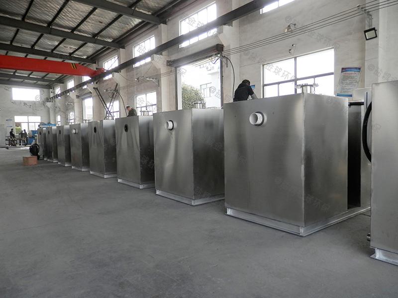东营排水沟下水除渣隔油提升一体化装置的种类