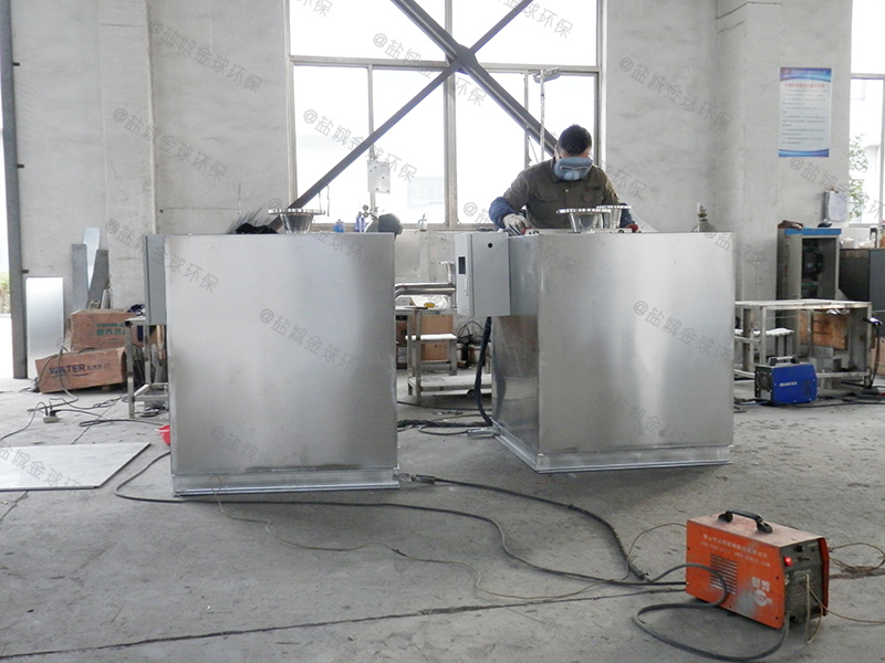 日照火锅店用的下水道除渣隔油提升设备选用表