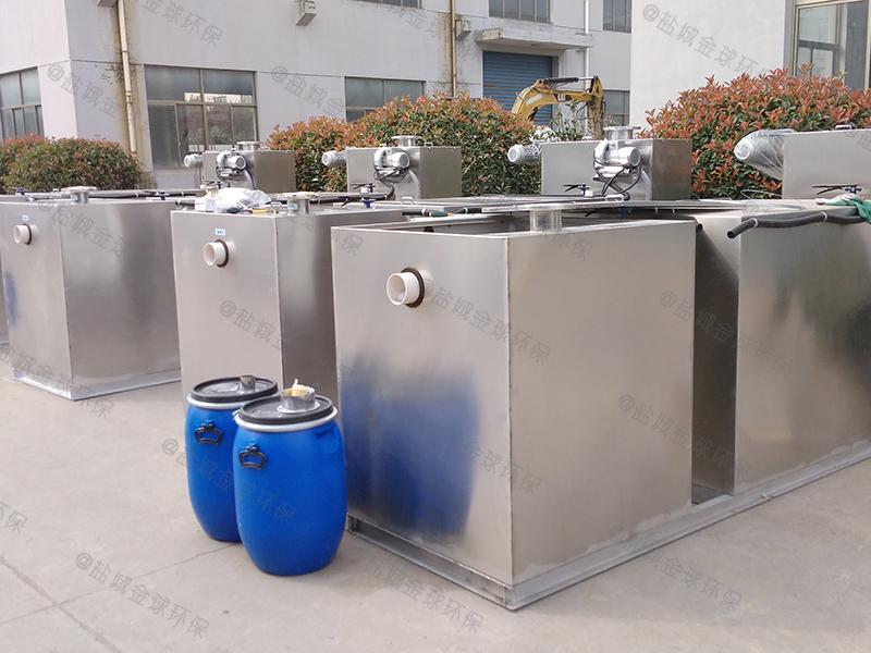 聊城餐饭泔水下水隔油提升设备设置标准