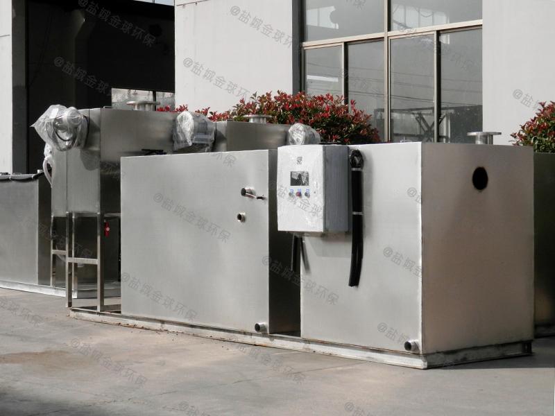 临沂后厨成品油水分离成套设备的构造