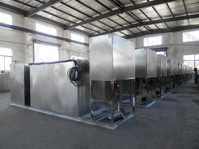 青岛施工现场食堂油水分离污水处理设备的选型