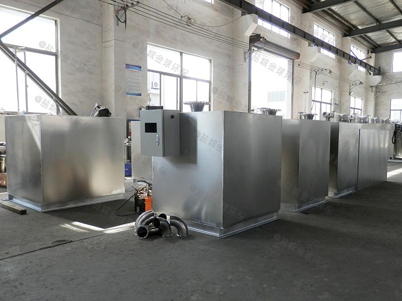 山东倾斜板式油水分离提升一体设备废油脂
