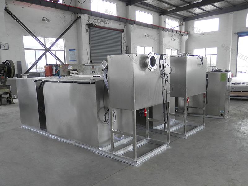 潍坊智能气浮食堂下水道油水分离器工程
