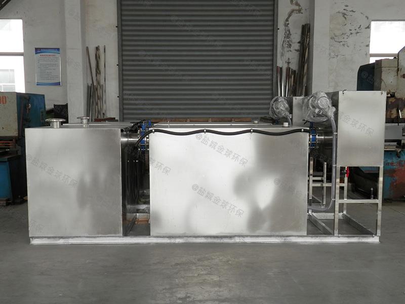 菏泽饭店小厨房下水油水分离设备用途