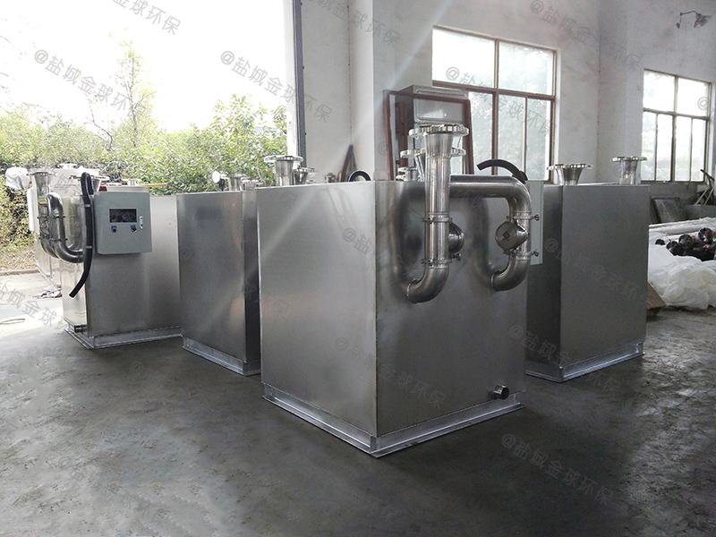 济南千人油水分离处理设备的设计计算