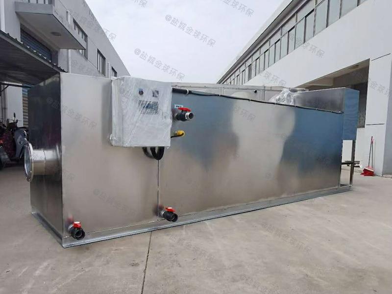 聊城厨房用小型下水道油水分离设备照片