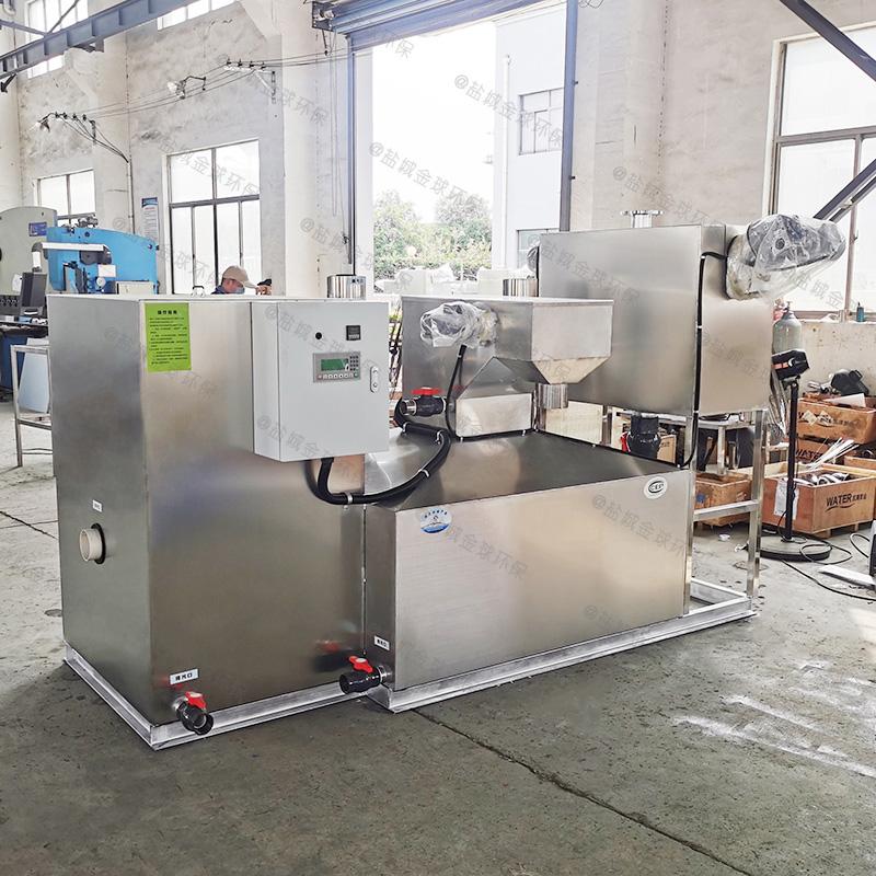 济宁平行板油水分离提升一体设备的设计