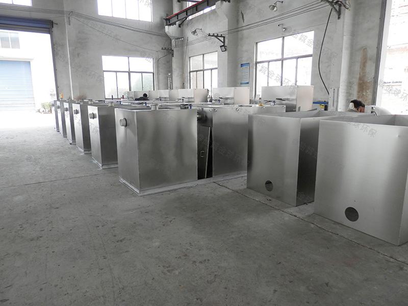 枣庄小型饭店下水道油水分离装置说明