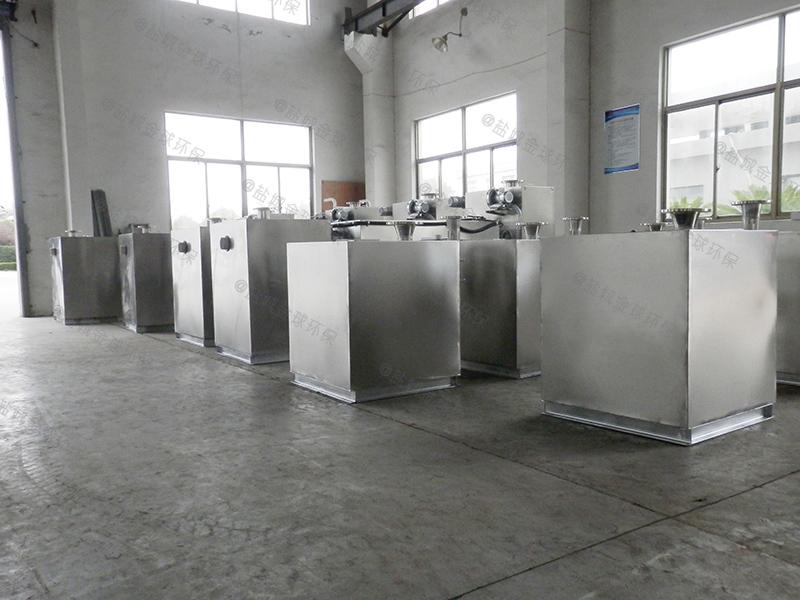 莱芜小商业食堂下水道油水分离器刮油机