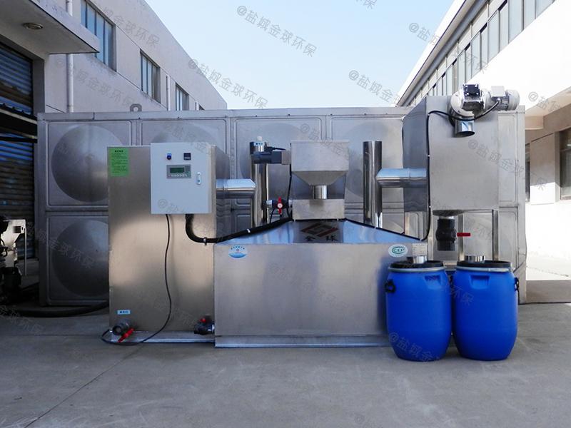济南三格式下水除渣隔油提升装置的类型