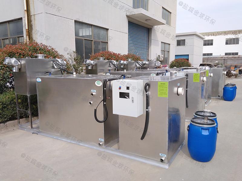 菏泽小吃店排油烟下水隔油提升设备排放