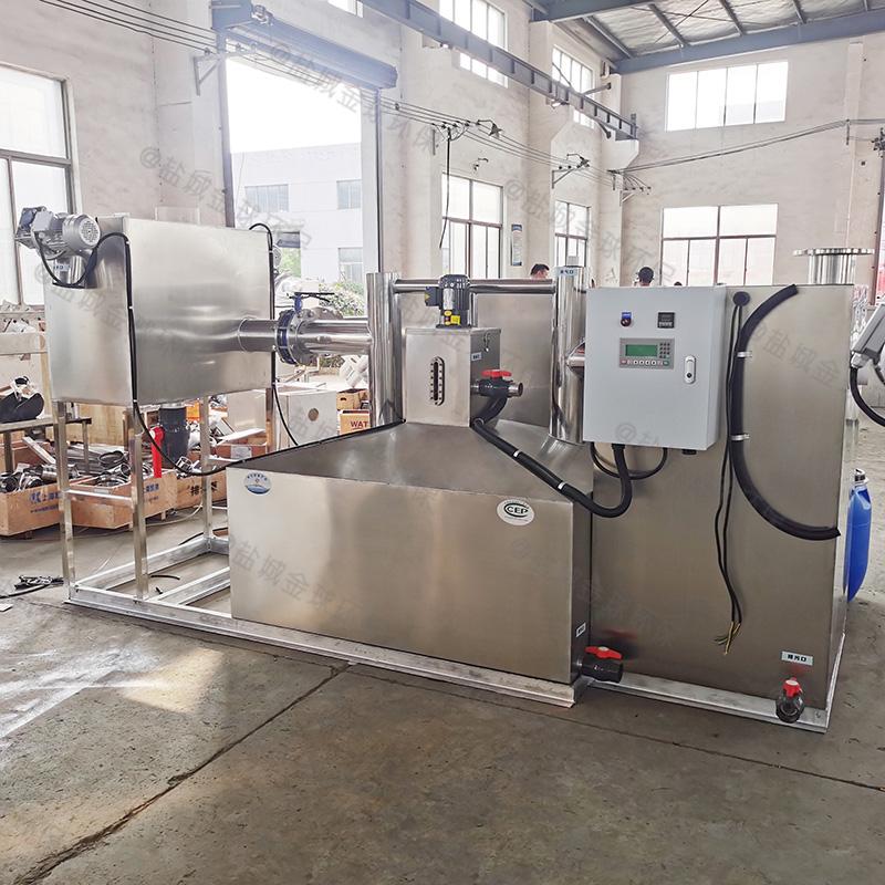 青岛三节式油水分离提升一体设备的优点
