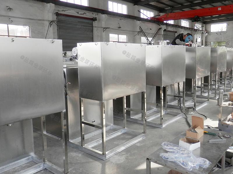 聊城平板厨房下水除渣隔油提升装置的优缺点