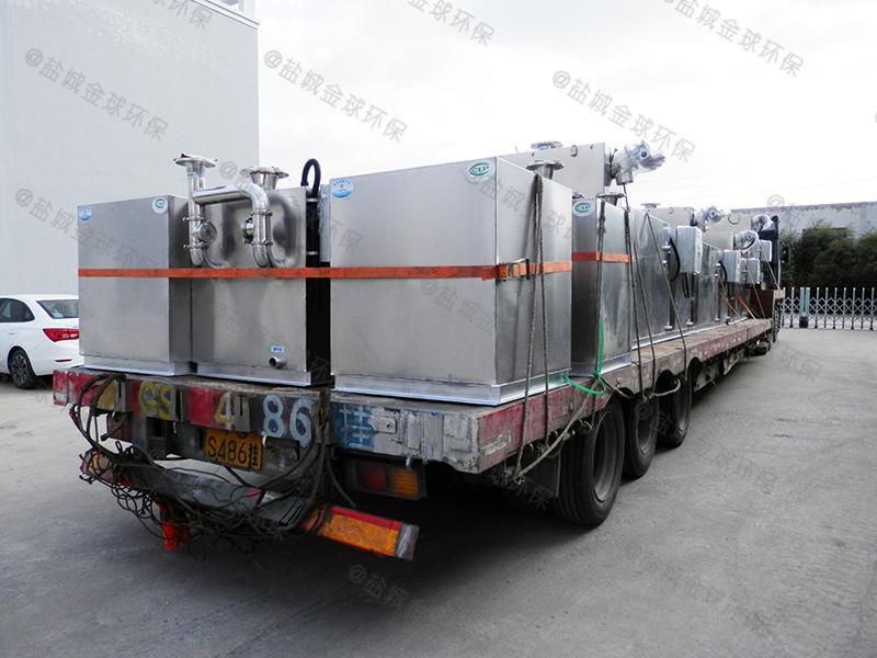 潍坊搅拌机下水道除渣隔油提升装置怎么选